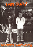 Ian Dury New Boots and Panties Music Poster Print Poster