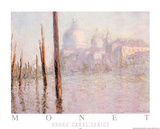 Venise Le Grand Canal Posters by Claude Monet