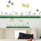 Butterflies Meadow 18 Wall Stickers Wall Decal