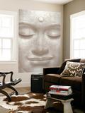 Smiling Buddha Mini Mural Huge Poster Art Print Veggoverføringsbilde