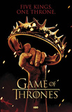 Game of Thrones Crown Five Kings One Throne TV Poster Print Posters