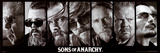 Sons of Anarchy Reaper Crew TV Poster Print Poster