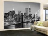 Pont de Brooklyn, New York, par Henri Silberman – Poster mural géant Papier peint
