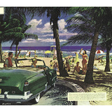 Miami (Beach Scene) Art Poster Print Prints