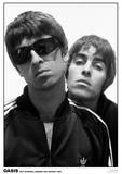 Oasis MTV Studios 1994 Music Poster Print Obrazy