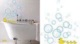 Bubble Ducks 24 Wall Stickers Wall Decal