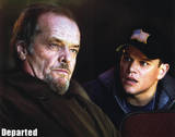 The Departed Jack Nicholson Matt Damon Movie Poster Print Masterprint
