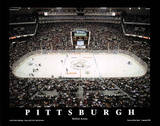 Pittsburgh Penguins Mellon Arena Sports Plakater af Mike Smith