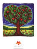 Scott Rhodes Tree of Love Art Print Poster Masterprint