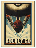 Star Trek Movie Boldly Go Poster Print Kunstdrucke