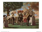 Sarah Jenkins (Uncle Joe&#39;s Funeral) Art Poster Print Prints