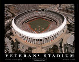 Philadelphia Phillies Veterans Stadium Final Season, c.1971-2003 Sports Prints by Mike Smith