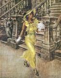 Reginald Marsh (High Yaller) Art Poster Print Posters