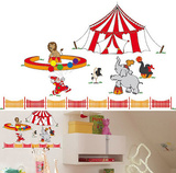 Circus Circus 11 Wall Stickers Vinilos decorativos