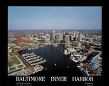 Baltimore Inner Harbor Posters by Mike Smith