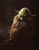 Star Wars Movie Yoda Glossy Photo Photograph Print Photo