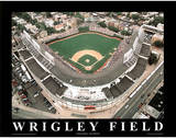 Chicago Cubs Wrigley Field Sports Posters par Mike Smith
