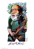Philip Burke Jerry Garcia Art Print Poster Pósters
