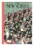 The New Yorker Cover - December 7, 1946 Reproduction procédé giclée par Christina Malman