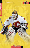 Miikka Kiprusoff Calgary Flames goalie Hockey Poster Prints