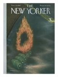 The New Yorker Cover - November 22, 1947 Giclee Print by Christina Malman