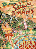 2000 Sonoma Salute to the Arts Art Print Poster Posters