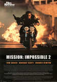 Mission: Impossible 2 Movie Tom Cruise Poster Prints