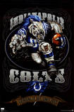 Indianapolis Colts (Mascot, Grinding It Out Since 1953) Sports Poster Print Print