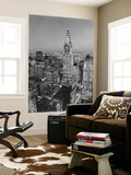 New York City Chrysler Building Mini Mural Huge Poster Art Print Wallpaper Mural