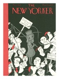 The New Yorker Cover - May 1, 1937 Giclee Print by Christina Malman