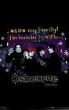 The Osbourne Family (Group) TV Poster Print Plakat
