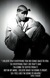 Tupac Shakur Going to Heaven Music Poster Print Photo