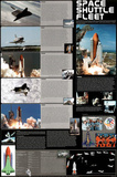Space Shuttle Fleet Poster