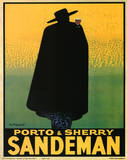Georges Massiot (Porto & Sherry Sandeman) Art Poster Print Print