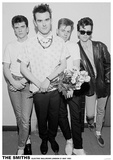 The Smiths Electric Ballroom 1983 Music Poster Print Photo