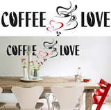 Coffee Love 26 Wall Stickers Decalques de parede