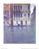 Claude Monet Palazzo Dario Venice Art Print Poster Masterprint