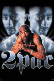 Tupac Shakur Portrait Music Poster Print Poster