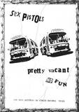 The Sex Pistols Pretty Vacant Music Poster Print Posters