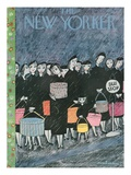The New Yorker Cover - March 31, 1956 Reproduction procédé giclée par Christina Malman