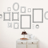 Valerie Michel Hand Made Frames Wall Stickers Decalque em parede