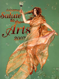 2007 Sonoma Salute to the Arts Art Print Poster Print