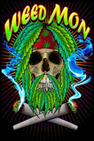 Weed Mon Pot Marijuana Blacklight Poster Print Posters