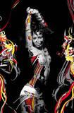 Trance (Dancing Girl) Art Poster Print Print