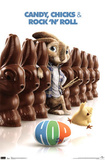 Hop Movie Chocolate Bunny Poster Print Posters