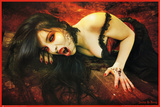 Avelina De Moray (Vampires of Rookwood) Art Poster Print Poster