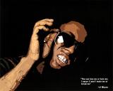Lil Wayne Quote Music Poster Print Fotografie