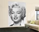 Marilyn Monroe Portrait Fototapete Wandgemälde