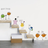 Jacques Rouxel La Famille Shadock Wall Stickers Decalque em parede
