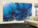 Dolphin Paradise Wall Mural